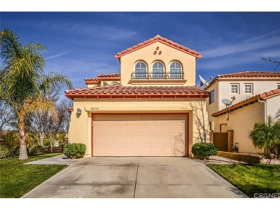 Valencia Single Family Home For Sale: 28370 Berylwood Place