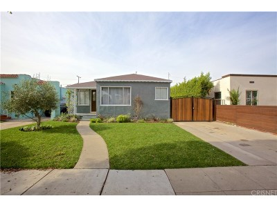 Inglewood Single Family Home For Sale: 1137 Rosewood Avenue