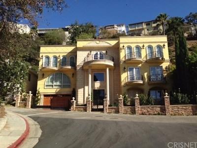 Los Feliz Single Family Home For Sale: 3583 Amesbury Road
