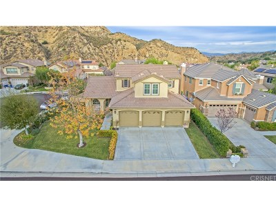 Stevenson Ranch Single Family Home For Sale: 25851 Royal Oaks Road