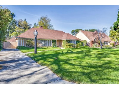 Woodland Hills Single Family Home For Sale: 6919 Firmament Avenue