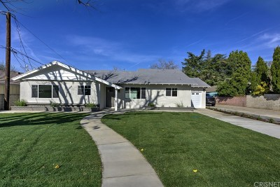 Newhall Single Family Home For Sale: 23501 Cherry Street