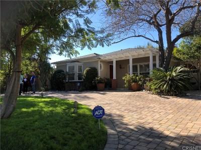 Toluca Lake Single Family Home For Sale: 5109 Strohm Avenue