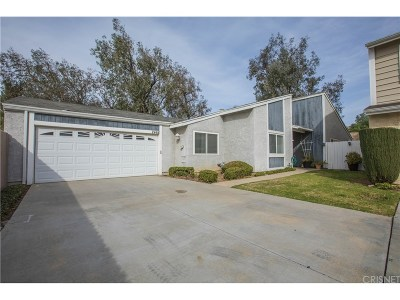 Simi Valley Single Family Home For Sale: 2468 Stow Street