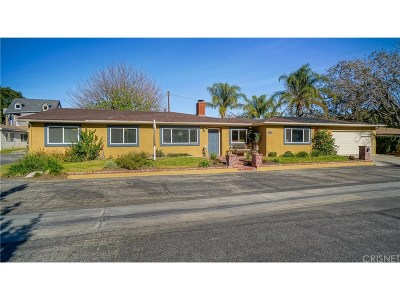 Newhall Single Family Home For Sale: 23415 Happy Valley Drive
