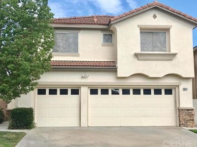 Simi Valley Single Family Home For Sale: 2534 Calla Lily Court