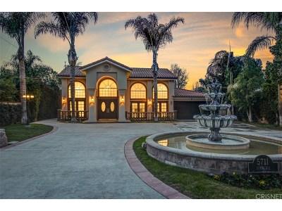 Tarzana Single Family Home For Sale: 5711 Donna Avenue