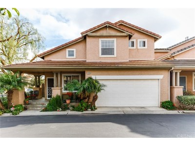 Simi Valley Single Family Home For Sale: 1884 Brookberry Lane