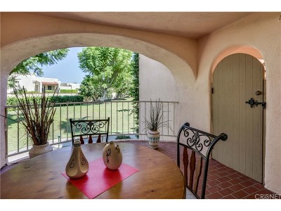 Palm Springs Condo/Townhouse For Sale: 500 East Amado Road #711