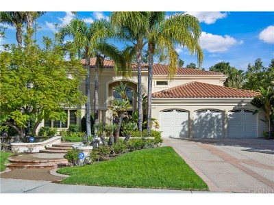 Calabasas Single Family Home For Sale: 25887 Chalmers Place