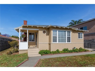 Burbank Single Family Home For Sale: 1819 North Lincoln Street
