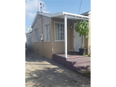 Compton Single Family Home For Sale: 913 West Magnolia Street
