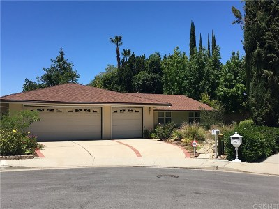 Woodland Hills Single Family Home For Sale: 21867 Woodland Crest Drive