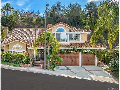 Calabasas Single Family Home For Sale: 22254 Cairnloch Street
