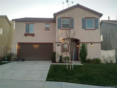 Canyon Country Single Family Home For Sale: 27093 Mountain Willow Lane