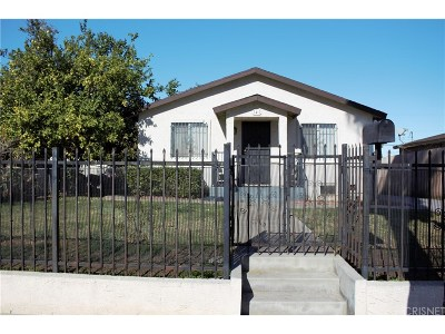 Los Angeles Single Family Home For Sale: 141 West 113th Street