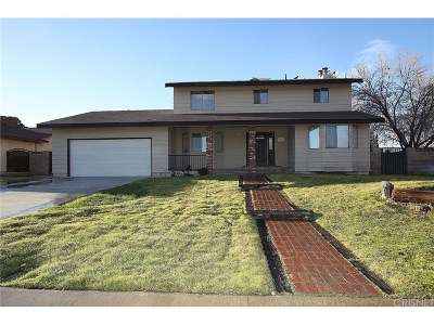 Lancaster Single Family Home For Sale: 42871 Sachs Drive