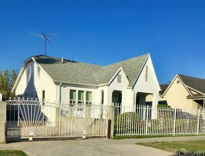 Los Angeles Single Family Home For Sale: 1811 West 35th Place