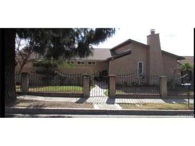 Sylmar Single Family Home For Sale: 15410 Bledsoe Street