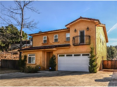 Los Angeles County Single Family Home For Sale: 9690 Sunland Boulevard
