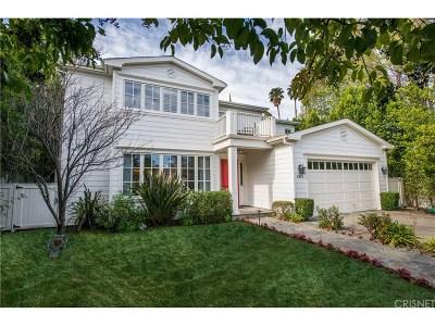 Encino Single Family Home For Sale: 5019 Gaviota Avenue