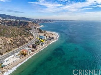 Malibu Single Family Home For Sale: 18830 Pacific Coast