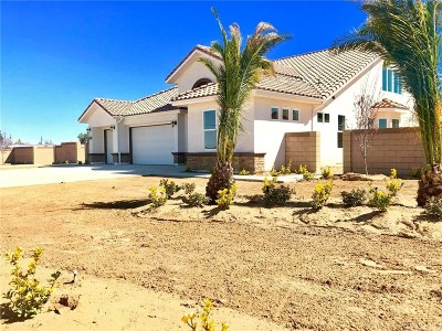 Palmdale Single Family Home For Sale: 1532 West Avenue North
