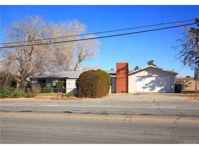 Quartz Hill Single Family Home For Sale: 41842 55th Street West