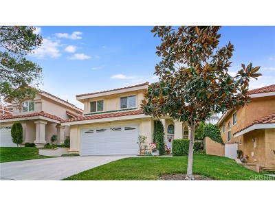 Canyon Country Single Family Home For Sale: 15656 Carrousel Drive