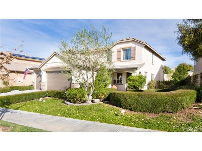 Saugus Single Family Home For Sale: 22479 Flatwater Court