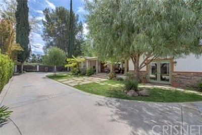 Woodland Hills Single Family Home For Sale: 22832 Collins Street