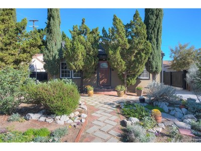 Valley Village Single Family Home For Sale: 4740 Kraft Avenue