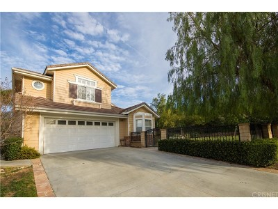 Saugus Single Family Home For Sale: 28806 Willowtree Court