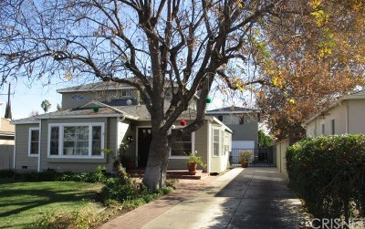Los Angeles County Single Family Home For Sale: 16762 Otsego Street