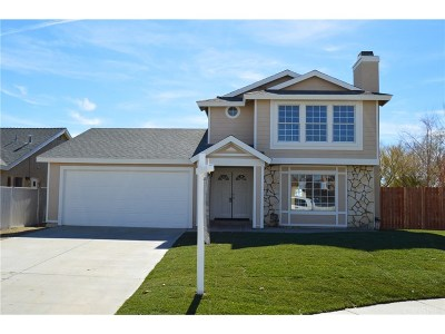 Rosamond Single Family Home For Sale: 4380 Sonora Court