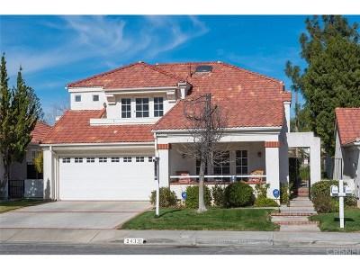 Valencia Single Family Home For Sale: 24331 Taranto Avenue
