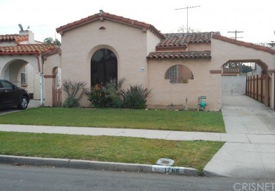 Los Angeles CA Single Family Home For Sale: $375,000