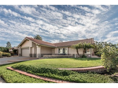Simi Valley Single Family Home For Sale: 3354 Marcy Court