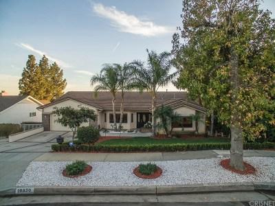 Northridge Single Family Home For Sale: 16830 Vincennes Street