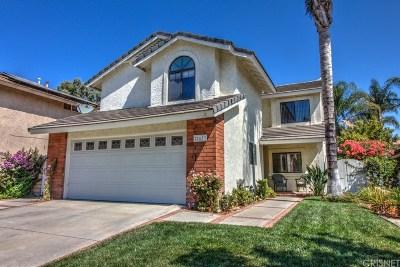 Saugus Single Family Home For Sale: 21633 Farmington Lane
