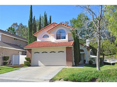Canyon Country Single Family Home For Sale: 26641 Purple Martin Court