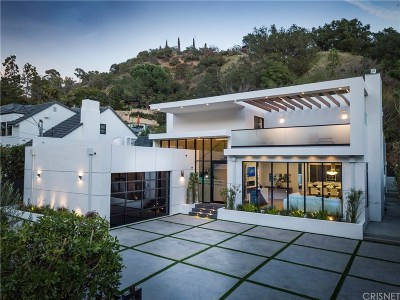 Beverly Hills Single Family Home For Sale: 1952 Coldwater Canyon Drive
