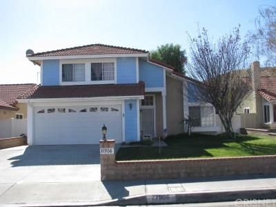 Castaic Single Family Home For Sale: 27906 Concord Avenue