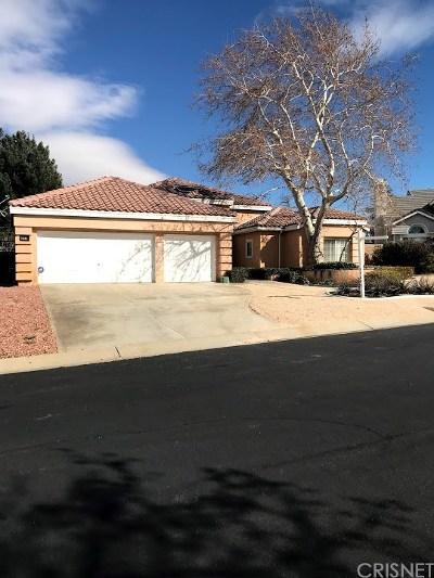 Palmdale Single Family Home For Sale: 40816 Riverock Lane