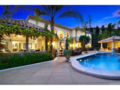 Calabasas Single Family Home For Sale: 25605 Brisbane Court