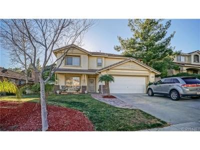 Castaic Single Family Home For Sale: 32731 Ridge Top Lane