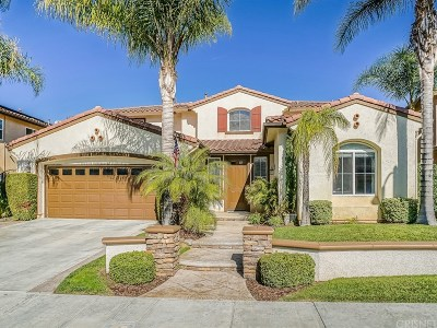 Saugus Single Family Home For Sale: 22337 Homestead Place