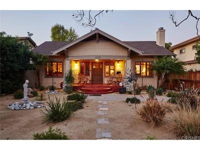 Valley Village Single Family Home For Sale: 11639 La Maida Street