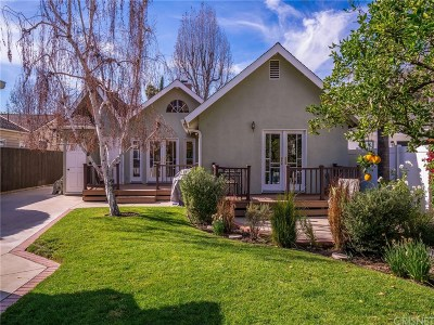 Los Angeles County Single Family Home For Sale: 4538 Van Noord Avenue