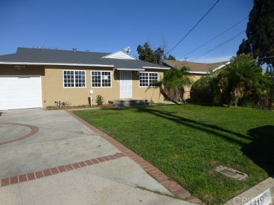 Los Angeles County Single Family Home For Sale: 16819 Covello Street